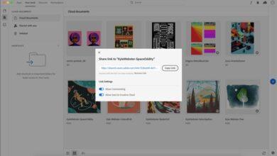 Photo of Adobe Creative Cloud añade funciones de colaboración a Photoshop e Illustrator: edición de documentos en la nube y revisiones