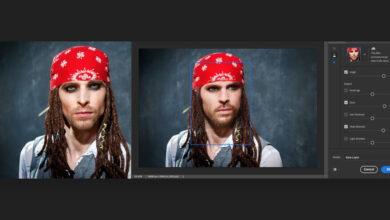 Photo of Los nuevos 'Neural Filters' de Photoshop pueden transformar la edad, expresión, pose, y hasta la mirada del sujeto de una foto