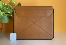 Photo of Magnetic Envelope Sleeve de Harber para iPad, una funda para llevarlo con estilo