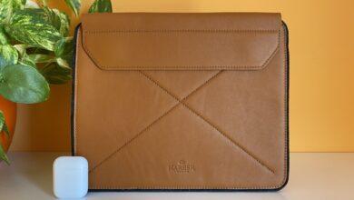 Photo of Magnetic Envelope Sleeve de Harber para iPad, una funda para llevarlo con estilo