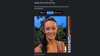 Photo of Google muestra cómo quiere que se sea el modo belleza en Android