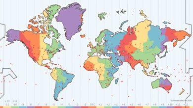 Photo of Este mapa interactivo nos descubre los husos horarios, cuándo se producen los cambios de hora y otros datos interesantes