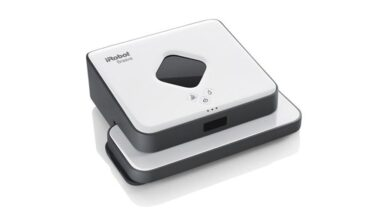 Photo of El robot friegasuelos Braava 390T de iRobot vuelve hoy a estar a su precio mínimo en Amazon por 179 euros