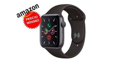 Photo of Precio mínimo en Amazon para el Apple Watch Series 5 GPS+Cellular: lo tienes por 130 euros menos, a unos ajustados 449 euros