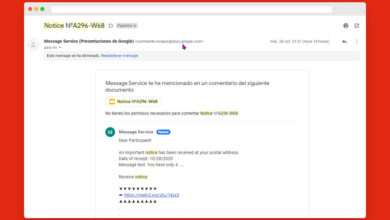 Photo of Si recibes notificaciones raras de Google Drive ten cuidado al abrir documentos compartidos, es una nueva estafa de phishing