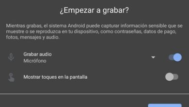 Photo of Cómo grabar el audio del móvil con la grabadora de pantalla que incluye Android 11