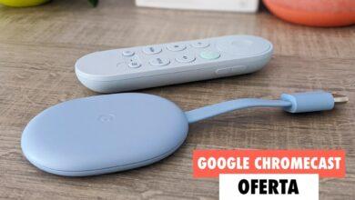 Photo of El nuevo Chromecast de Google convierte tu viejo televisor en todo un Smart TV y en Fnac lo tienes en oferta hoy con un 17% de descuento
