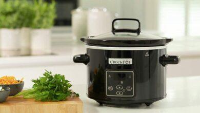 Photo of Esta olla de cocción lenta Crock-Pot, con temporizador digital, es una gran aliada en la cocina y está a su precio mínimo en Amazon