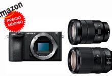Photo of A su precio más bajo hasta la fecha en Amazon, te puedes equipar con una Sony Alpha 6500 con objetivos 18-105mm y 70-300mm por sólo 1.835,57 euros