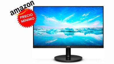 Photo of Precio mínimo en Amazon: un económico monitor de PC como el Philips V Line 221V8A/00 ahora más barato todavía por sólo 79,99 euros