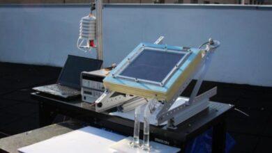 Photo of Para extraer agua del aire seco usando energía solar