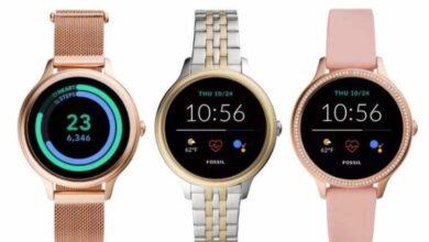 Photo of Fossil presenta sus relojes inteligentes algo más económicos