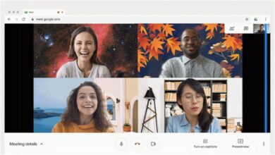 Photo of Google Meet se actualiza con fondos personalizados en su versión web