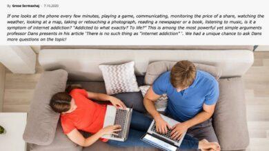 Photo of Sobre la adicción a internet
