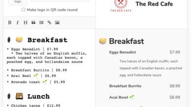 Photo of Cómo crear un menú de restaurante o una lista de precios con un código QR gratis y en cuestión de minutos