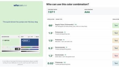 Photo of Quiénes pueden ver ciertas combinaciones de colores en la Web y cómo los ven realmente