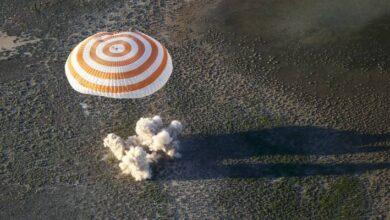 Photo of Casi 17 horas de viaje necesitó el Soyuz MS-16 para llegar a la Tierra desde la ISS