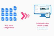 Photo of Cómo crear una web y alojarla con Google Docs