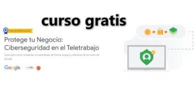 Photo of Curso gratis de Ciberseguridad en el Teletrabajo, de Google con INCIBE
