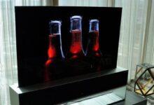 Photo of LG lanza una pantalla OLED que se puede enrollar y cuesta una fortuna