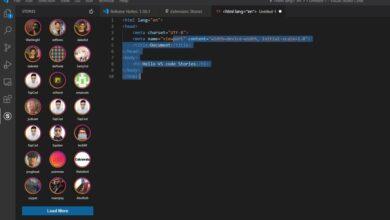 Photo of Las 'stories' ya han llegado incluso a Visual Studio Code: una extensión nos permite mostrar nuestro código al resto de usuarios
