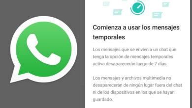 Photo of WhatsApp: cómo activar los mensajes que desaparecen a la semana en un chat o grupo