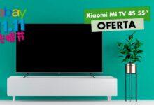 Photo of Con el cupón P1111 de eBay por el 11 del 11, tenemos la Xiaomi Mi TV 4S de 55 pulgadas por sólo 359,99 euros