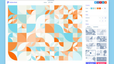 Photo of En esta web puedes diseñar patrones con variaciones infinitas y descargarlos en SVG, JPEG o PNG