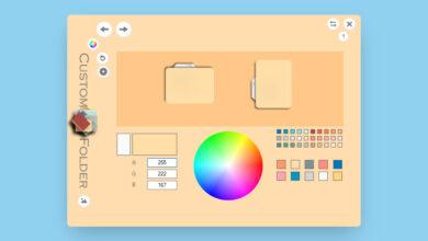 Photo of Esta aplicación te deja personalizar las carpetas en Windows 10 con diferentes colores, imágenes y estilos