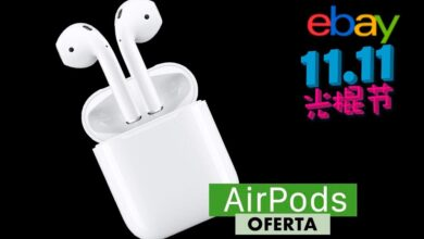 Photo of Por el 11 del 11, llévate los AirPods de Apple por 111,11 euros en eBay