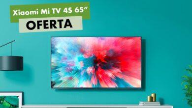 Photo of Ahorro record para la Xiaomi Mi TV 4S de 65 pulgadas: MediaMarkt te la deja por 499 euros con 200 de rebaja