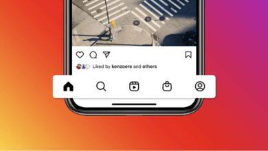 Photo of Instagram incorpora una pestaña de Reels y otra de Shop en su nuevo diseño