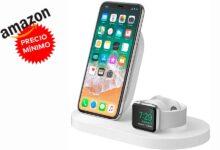 Photo of Chollazo: cargar tu iPhone y tu Apple Watch cada noche sale baratísimo con la Belkin Boost Up a su precio más bajo en Amazon, por unos 67 euros de risa