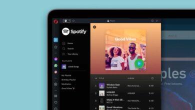 Photo of La nueva versión de Opera integra Spotify, Apple Music y YouTube Music directamente en la barra lateral