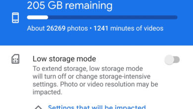 Photo of Cámara de Google 8.1 añade un modo de ahorro de espacio para cuando tienes el móvil casi lleno