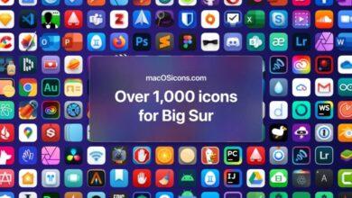 Photo of En esa web puedes descargar más de 2000 iconos para macOS Big Sur que sí lucen consistentes con el diseño
