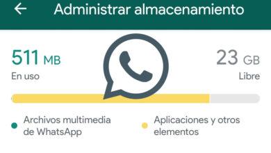 Photo of Así puedes liberar espacio en WhatsApp con la nueva herramienta 'Administrar almacenamiento'