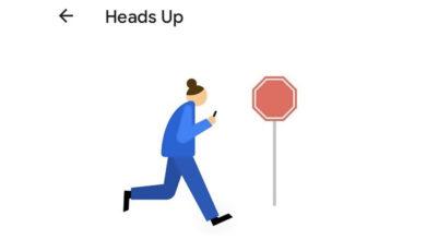 Photo of Bienestar Digital te recordará que no uses el móvil mientras andas, con 'Heads Up'