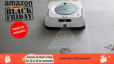Photo of Braava Jet m6134 de iRobot también a precio mínimo histórico por el Black Friday en Amazon: 499 euros