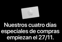 Photo of Apple anuncia los descuentos que aplicará por la compra de productos durante el Black Friday