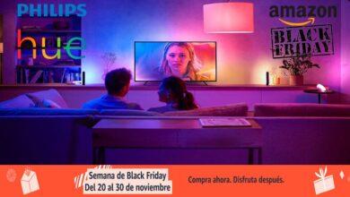 Photo of Black Friday en Amazon: 10 ofertas en iluminación LED inteligente Philips Hue. Tu hogar más eficiente a los mejores precios