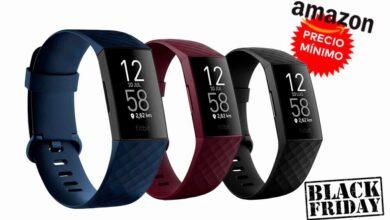 Photo of Amazon baja de nuevo a precio mínimo la pulsera deportiva Fitbit Charge 4 por el Black Friday. La tienes en oferta por 99,95 euros