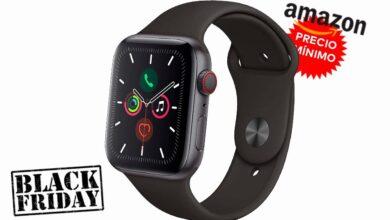Photo of Nunca había sido tan barato: Amazon te deja el Apple Watch Series 5 GPS+Celular de 44mm en 399 euros por el Black Friday, con más de 100 euros de rebaja