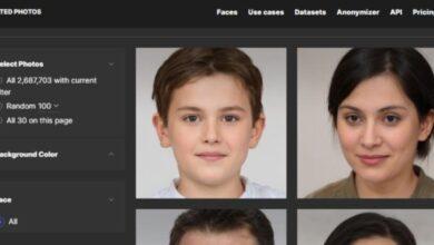 Photo of AI Anonymizer, crea una cara virtual a partir de una foto de tu rostro