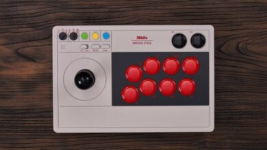 Photo of Conoce al 8BitDo Arcade Stick, un stick de pelea para usar con Nintendo Switch