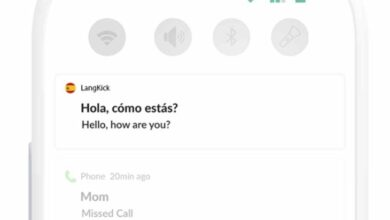 Photo of LangKick, para aprender idiomas desde el feed de notificaciones