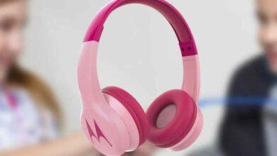 Photo of Así son los nuevos auriculares inalámbricos para niños de Motorola
