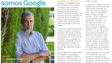 Photo of No, no todos somos Google