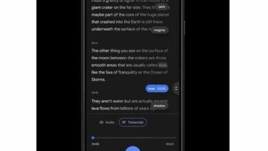 Photo of Smart Scrolling, lo nuevo de la app Grabadora de Google para navegar por las transcripciones