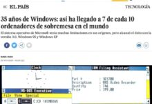 Photo of Hablando sobre Windows, en El País